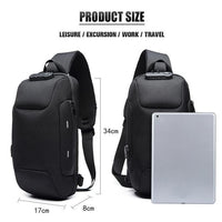 Anti-theft Backpack With 3-Digit Lock - GiftedLoving