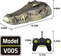 Crocodile Head Remote Control Boat - GiftedLoving