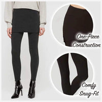 ThermaChic™ Winter Fleece Skirted Leggings