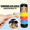 Unbreakable Wooden Man Magic Toy - GiftedLoving