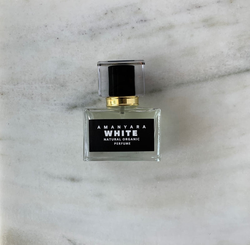 WHITE NATURAL ORGANIC PERFUME 30 ML - Amanyara