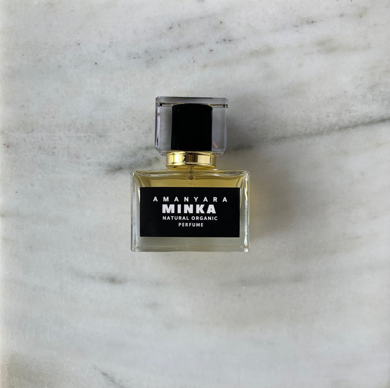 MINKA NATURAL ORGANIC PERFUME 30ML - Amanyara Natural Perfume