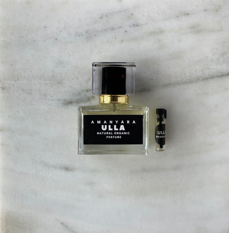 ULLA NATURAL ORGANIC PERFUME 30ML - Amanyara Natural Perfume