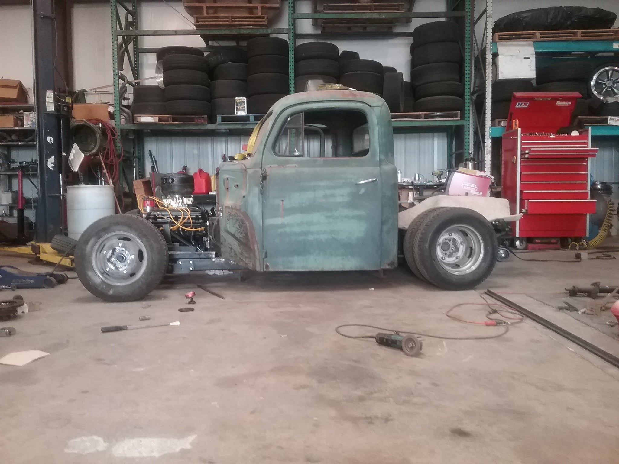 1948 Ford Cab - 1936 Chevy Front End