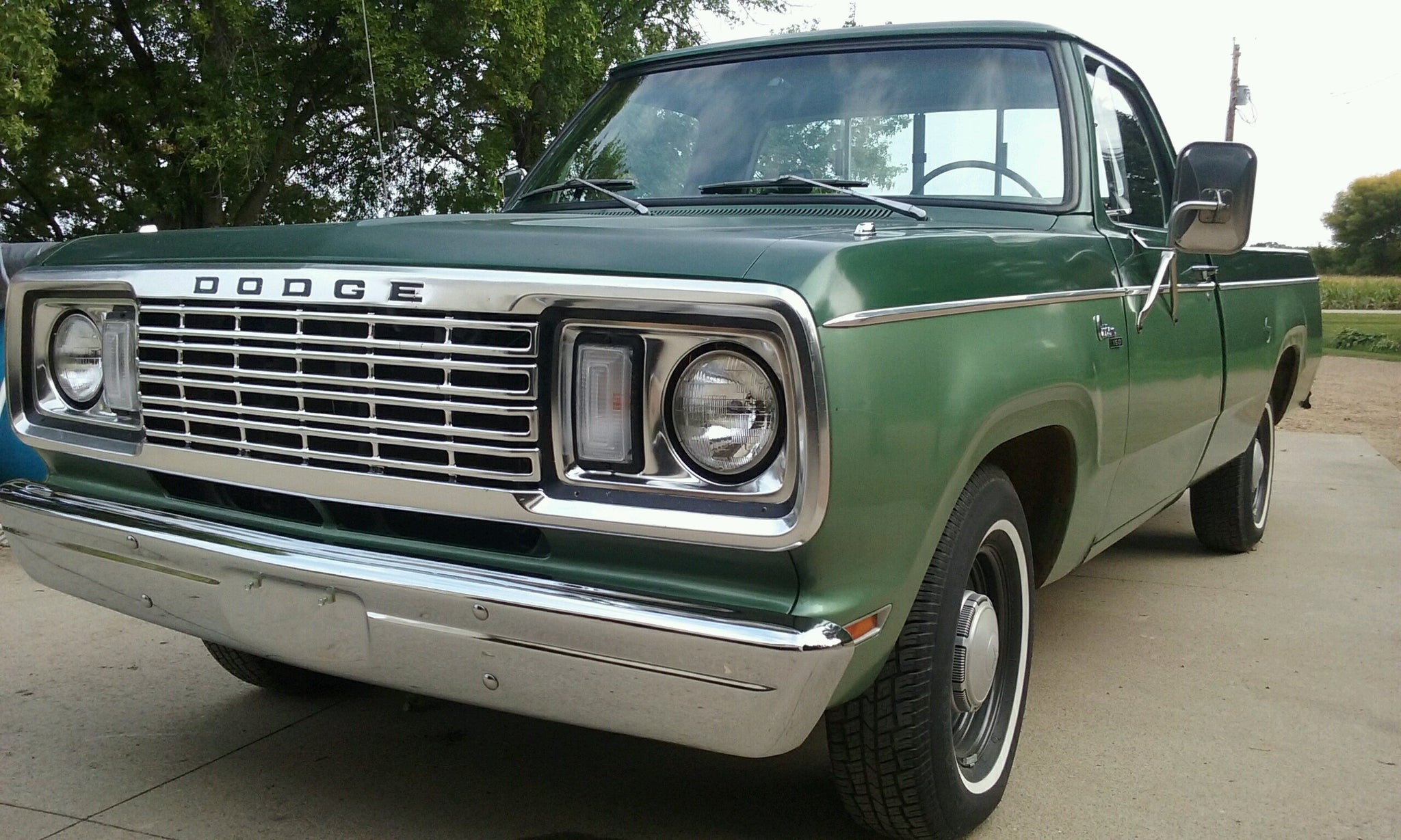 1977 Dodge D150 Restoration Wiring