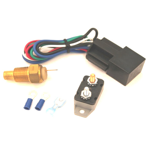 Fan Relay with Thermostat Kit - 190 Degree
