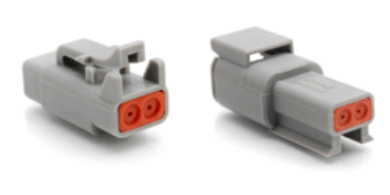 2 Position Kit (2 Pair)  Amphenol ATM Connectors (Deutsch DTM compatible)