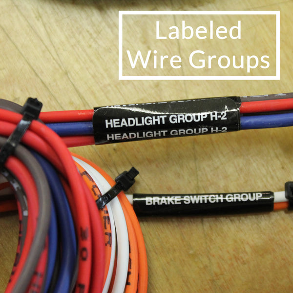 14 Circuit Trunk Mount Wire Harness