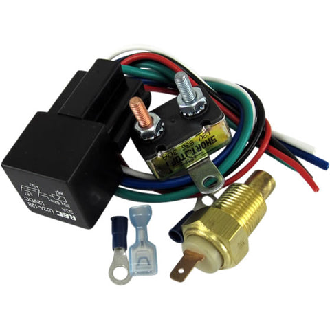 Fan Relay with Thermostat Kit - 184 Degree