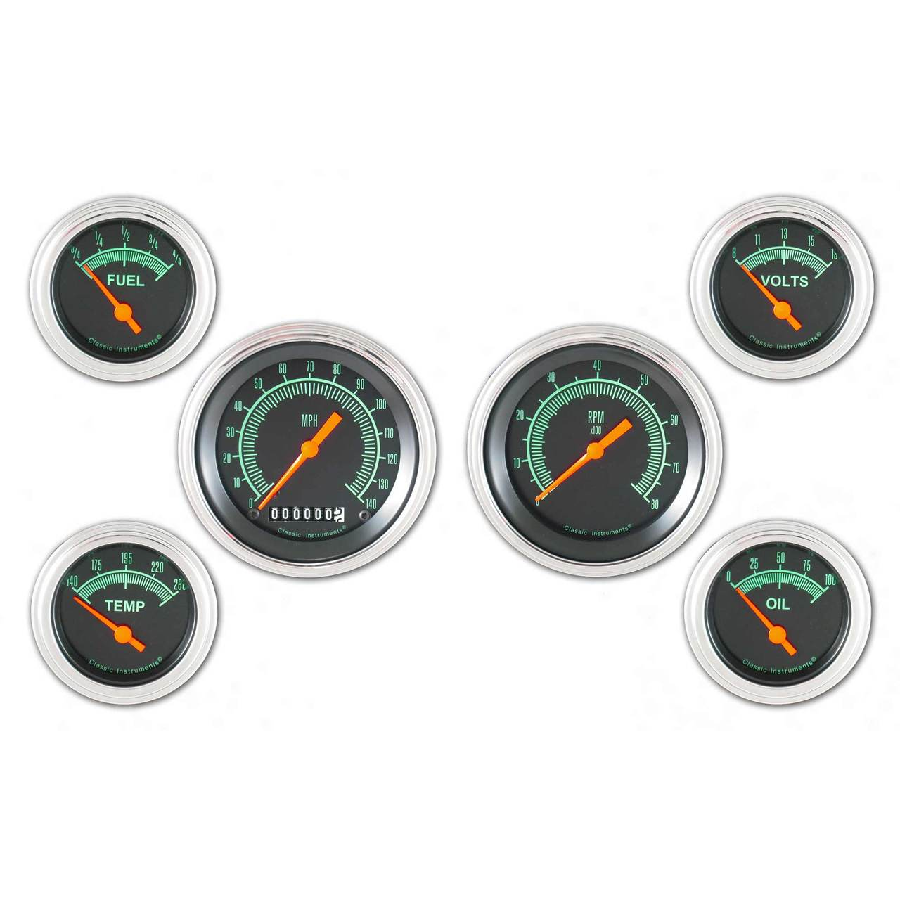 G-Stock Series Six Gauge Set