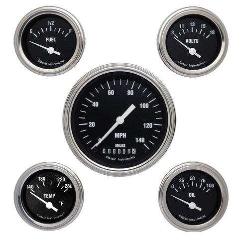 Hot Rod Series Five Gauge Set
