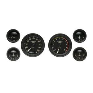 Speedometer, Tachometer, Fuel, Oil, Temp, and Volts