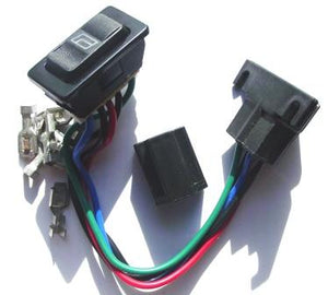 Illuminated Power Window Switch
