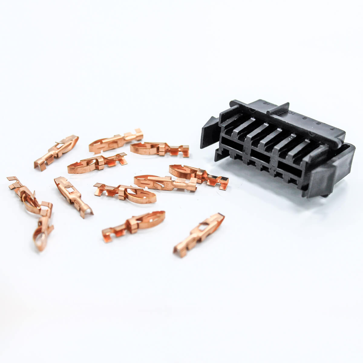 Printed Circuit Board 12 Pin Connector
