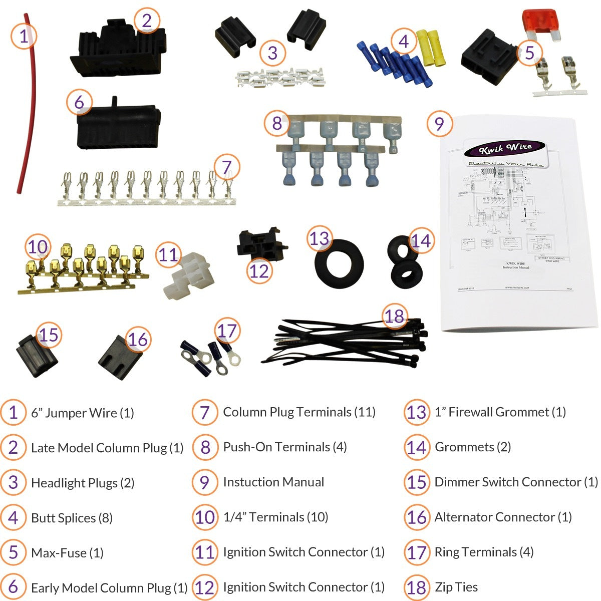 Standard Harness Install Kit