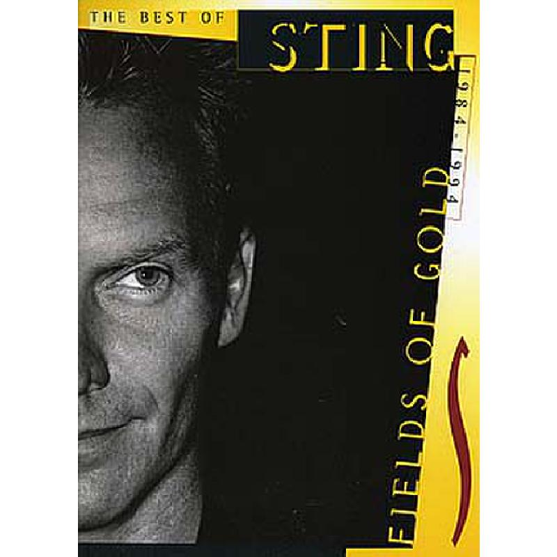 Sting Fields of Gold Best Of (Vocal, Piano, Guitar)