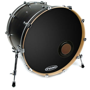Laden Sie das Bild in den Galerie-Viewer, Evans EQ2 Bass Drum Black Resonant Ply-1 22""