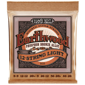 Ernie Ball Earthwood 12- String Light