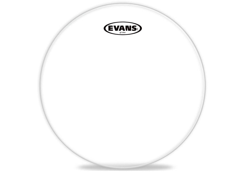 "Evans Bass Drum 22"" Clear 1-Ply Batter Head"