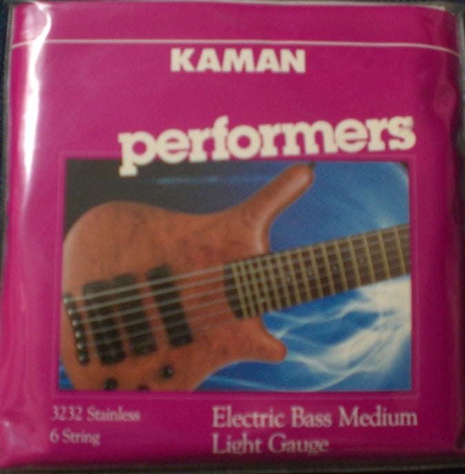 Kaman performers 3232 Stainless 6 String Bass