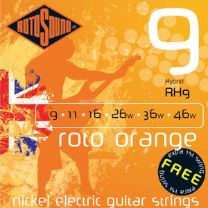 Laden Sie das Bild in den Galerie-Viewer, Rotosound Roto Orange Hybrid RH9