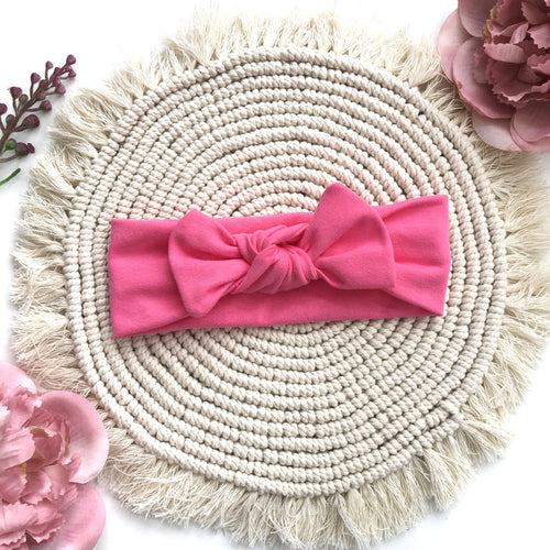 Candy Pink Headband - BeauxBowsCo