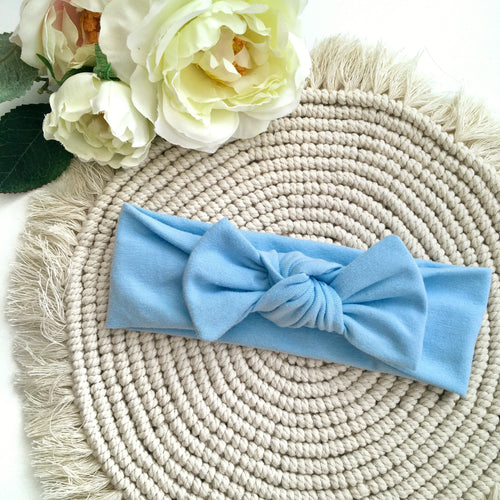 Baby Blue Headband - BeauxBowsCo