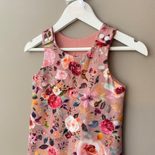 Load image into Gallery viewer, PREORDER Watercolour Bouquet Romper - BeauxBowsCo