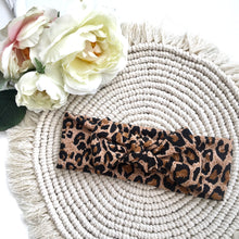 Load image into Gallery viewer, Leopard Print Headband - BeauxBowsCo