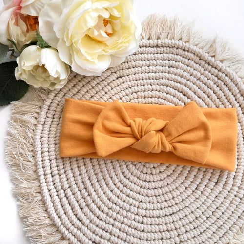Ochre Headband - BeauxBowsCo