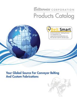 Beltsmart BeltService Conveyor Belting Custom Fabrication Full Catalog
