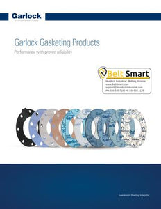 Garlock Compressed Non-Asbestos Gasketing & Sheet Catalog