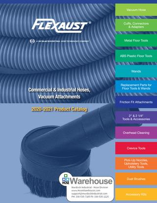 Flexaust Commercial & Industrial Vacuum Attachements Catalog