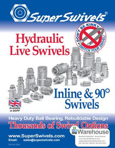 SuperSwivels Hydraulic Live Swivel Joints Catalog