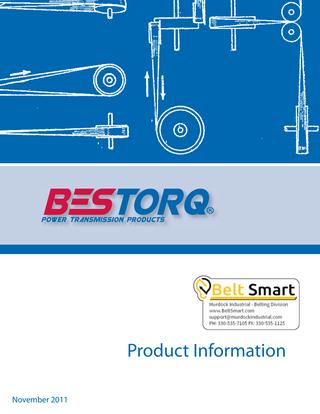 Bestorq Power Transmission Products Catalog
