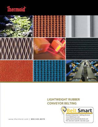 Thermoid Lightweight Rubber Conveyor Belting Catalog