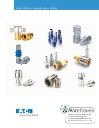 Eaton Hansen Quick Disconnect Couplings Catalog