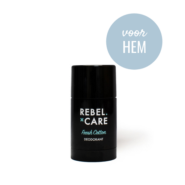 Loveli Deo Rebel Fresh Cotton mini voor hem