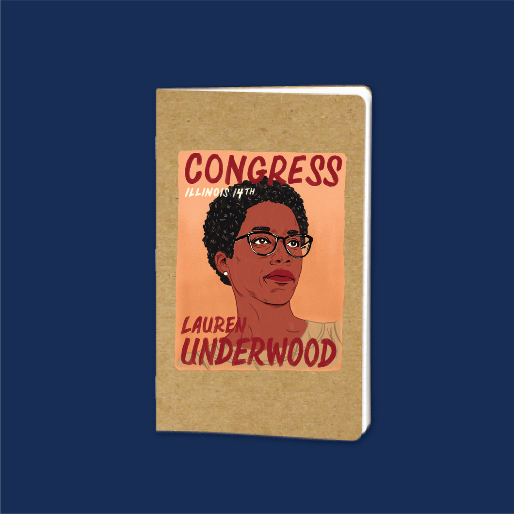 Lauren Underwood Notebook