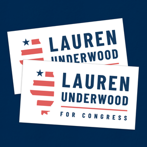 Lauren Underwood Bumper Sticker 2-Pack