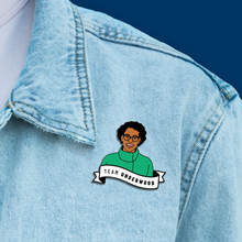 Load image into Gallery viewer, Lauren Underwood Enamel Pin