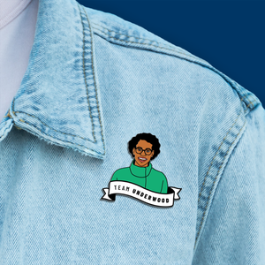 Lauren Underwood Enamel Pin