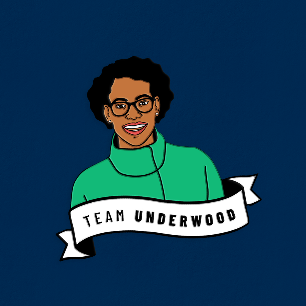 Team Underwood Enamel Pin