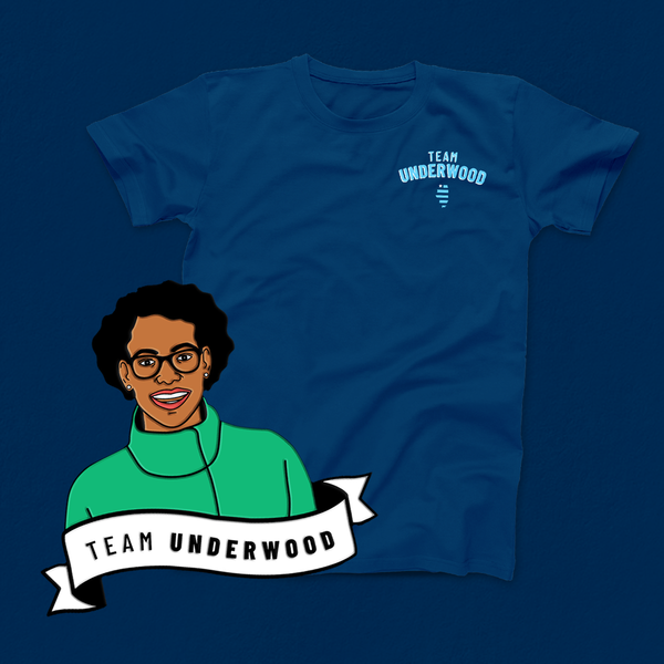 The Re-Election Pack with Team Underwood Navy Tee (Save $5!)