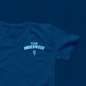 Lauren Underwood Team Underwood Navy Tee