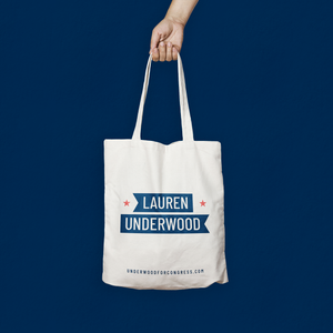 Lauren Underwood Canvas Tote Bag