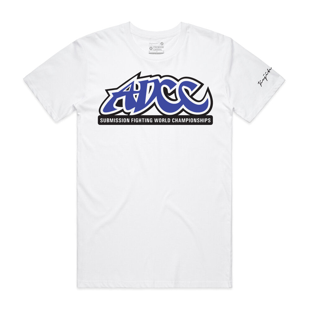 ADCC CORE TEE WHITE