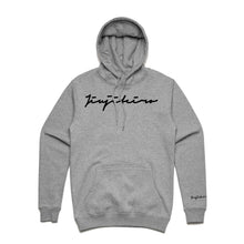 Load image into Gallery viewer, SIGNATURE GRAY HOODIE