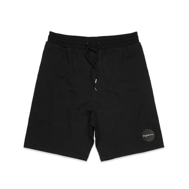 CASUAL FRENCH TERRY BLACK SHORTS