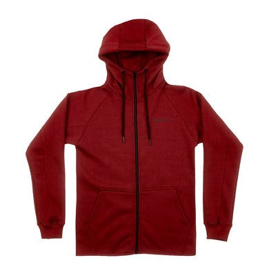 TECH FLEECE ZIP HOODIE CRIMSON